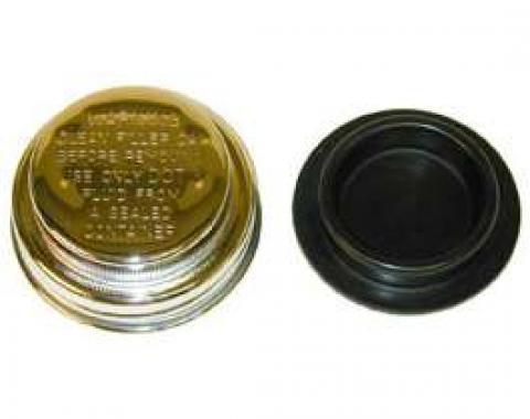 Master Cylinder Filler Cap - Chrome