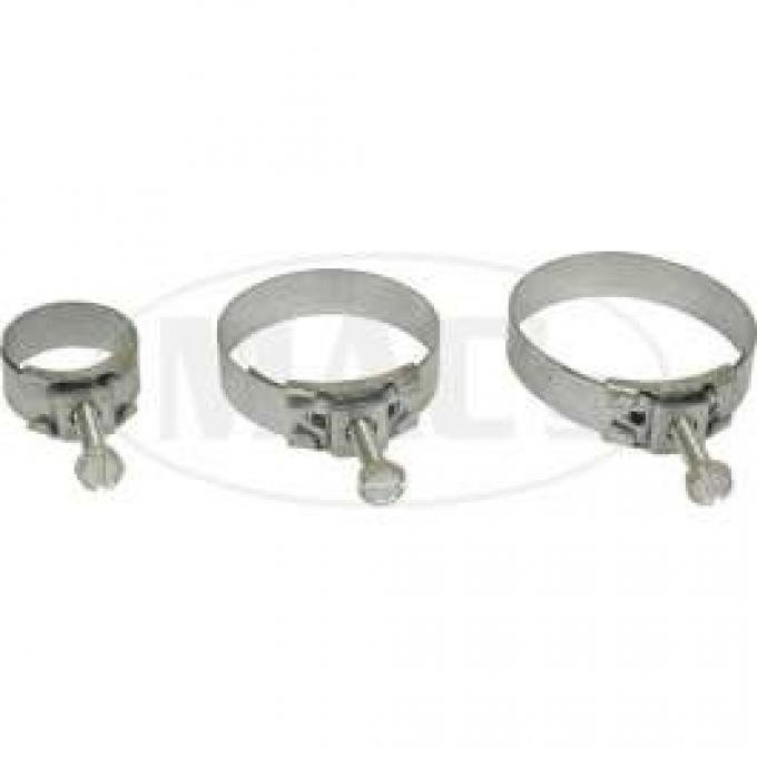 Radiator Hose Clamp Set - Tower Type - 10 Clamps - 260 Or 289 Or 302 Or 351 V8