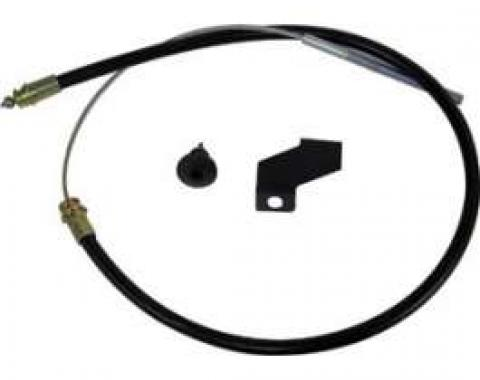 Front Emergency Brake Cable - 44 Long
