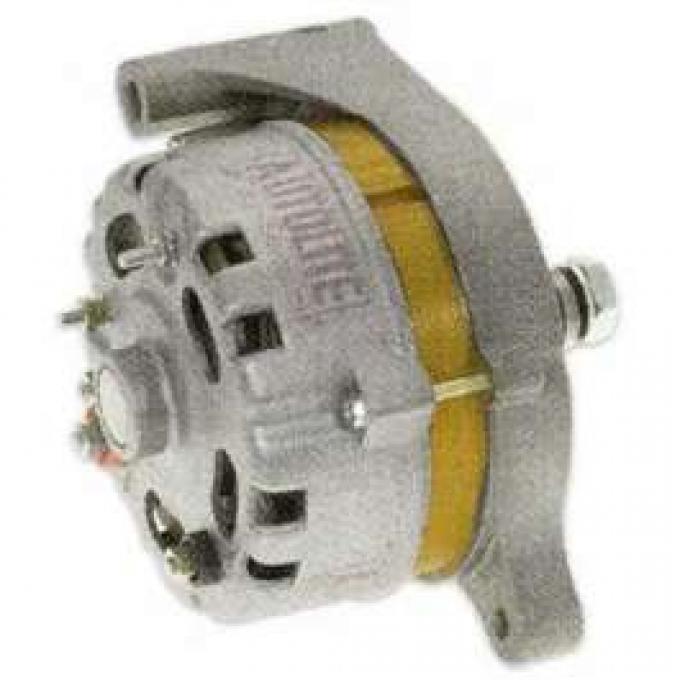 66/93 Chrome Alternator Externally Regulated, 60 Amp