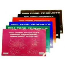 Ford Products Engine Equipment Assembly Manual - 38 Pages