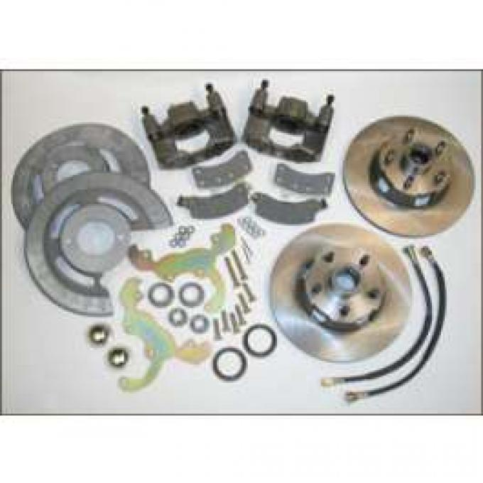 Front Disc Brake Conversion Kit, V8 Only, 5 Lug, Bolt On, Comet, Falcon, Ranchero, 1960-1969