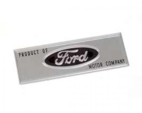 Scuff Plate Emblem - Ford Script Exactly As Original