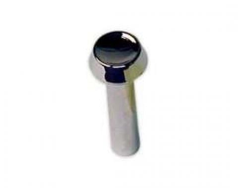 Door Lock Button - Chromed Plastic