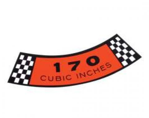 Decal - Air Cleaner - 170 Cubic Inches