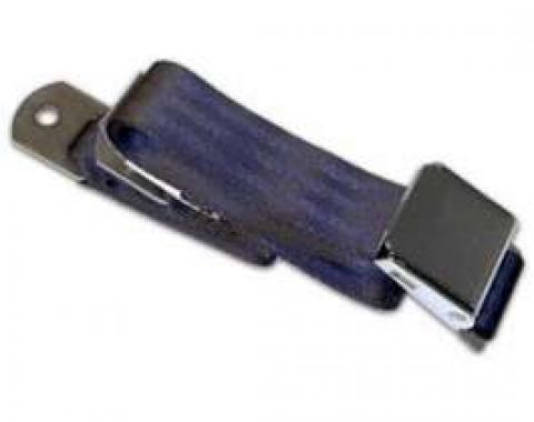 "Seatbelt Solutions Universal Lap Belt, 60"" with Chrome Lift Latch 1800604004   Dark Blue"