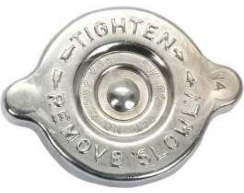 62/67 Chrome Radiator Cap (14 Lbs)
