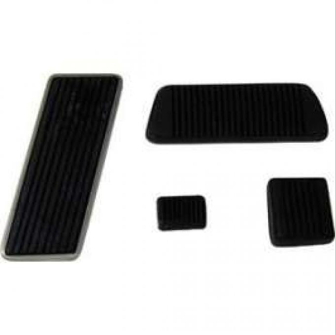 Pedal Pad Kit, Manual Transmission, Ranchero, Torino, 1972-1973