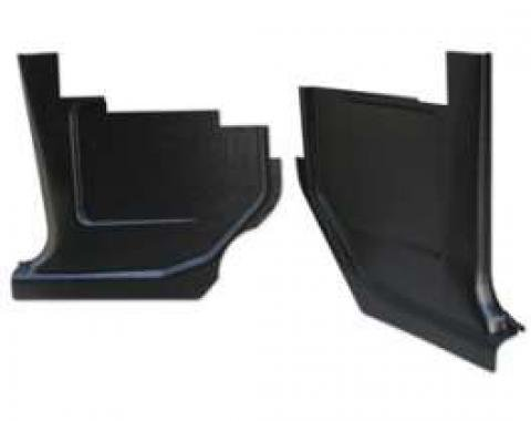 Kick Panels - Black Injection Molded ABS Plastic
