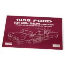 Ford Body Trim and Sealant Manual