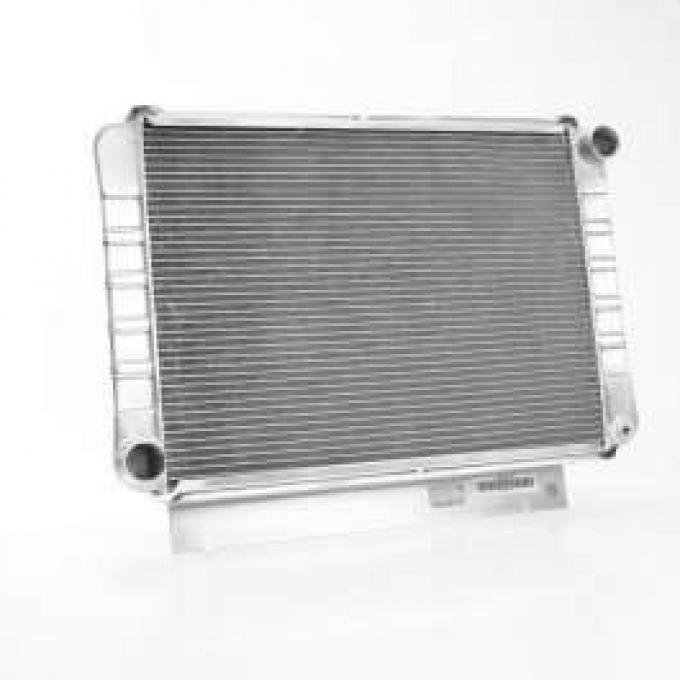 60/63 FULL SIZE FORD GRIFFIN ALUMINUM RADIATOR, V8 WITH MANUAL TRANSMISSION