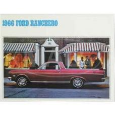 Sales Brochure, Ranchero, 1966