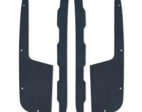Rear Quarter Upper Trim Set - 4 Pieces