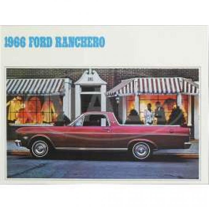 Sales Brochure, Ranchero, 1966