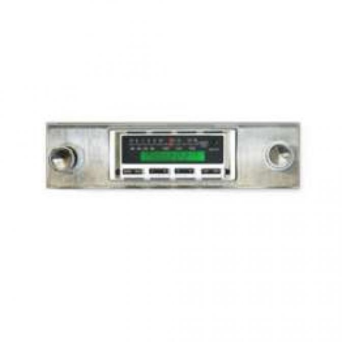 Stereo Radio, AM/FM/iPod, Fairlane/Ranchero/Torino, 1970-1971, Ken Harrison