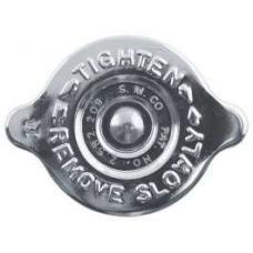 Radiator Cap - 14 PSI. - Chrome Plated - S.M. CO Logo