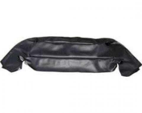 Convertible Top Well Liner - Black Vinyl