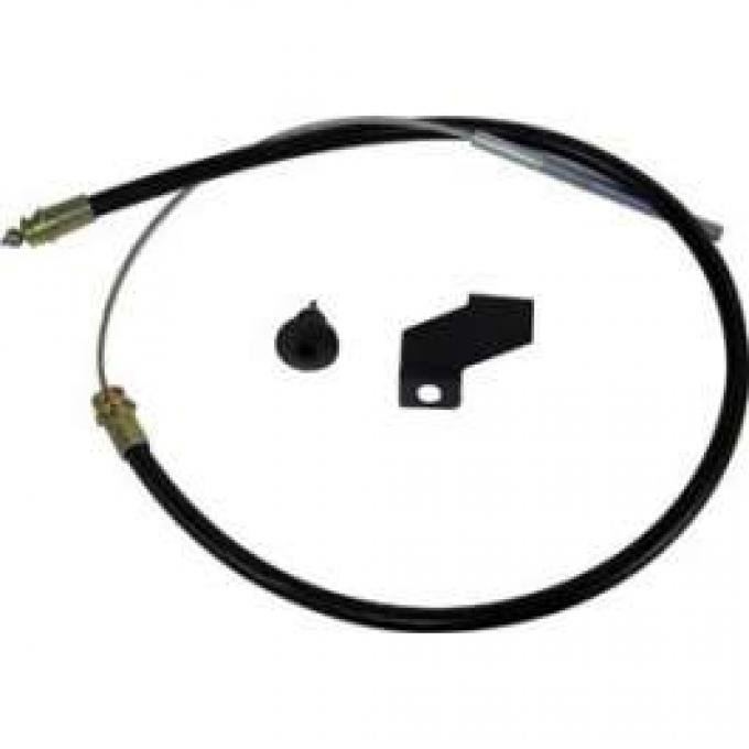 Rear Emergency Brake Cable - Right - 89-1/2