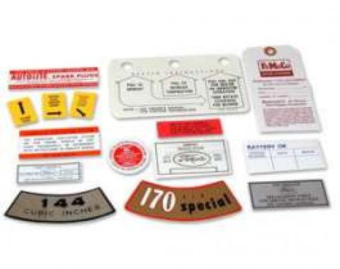 Decal Kit - 144 6 Cylinder - 13 Pieces