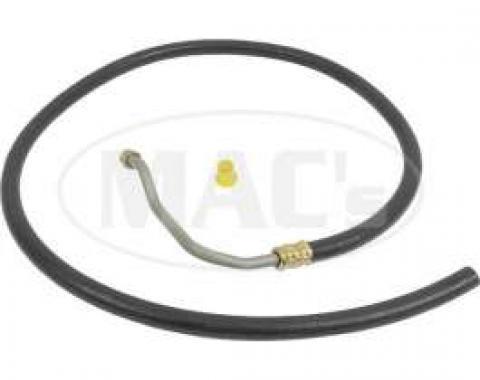 67-68 Ranchero/Fairlane/Torino Control Valve To Pump Return Hose (289/302)-32 1/2