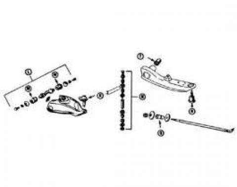 Upper Ball Joint - 3 Bolt Style