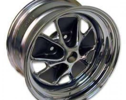 Wheel - Styled Steel - Chrome With Charcoal Cavities - 14 X 7