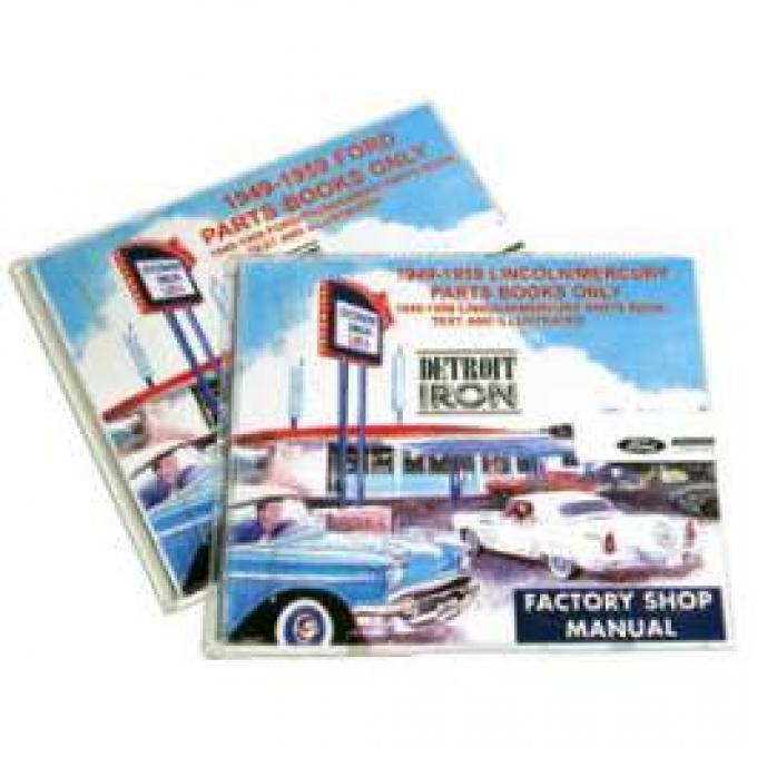 Shop Manual & Parts Manual On CD-Rom, Comet, Fairlane, Falcon, Ranchero, 1965
