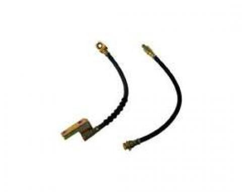 Brake Hose - Front - Disc Brakes - Left Or Right - 15 Long