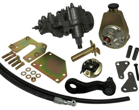 Chevy Truck Power Steering Conversion Kit, V6, 1960-1966