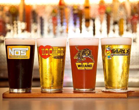Holley Logo Pub Glass Assortment 36-441