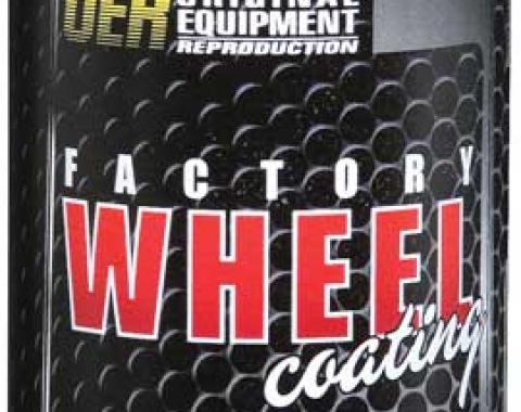 "OER 1960-80 Low Luster Gray ""Factory Wheel Coating"" Wheel Paint 16 Oz Can K89410"