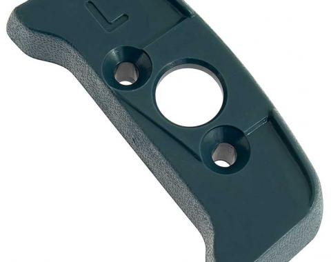 OER 1974-92 Seat Belt Shoulder Belt Guide Escutcheon - LH - Dark Blue 20552354