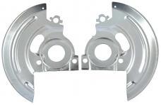 """OER 1964-74 Disc Brake Backing Plate Set for 2"""" Drop Spindles - Various GM Models 153644"""