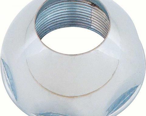 """OER 1965-81 GM Chrome Domed Antenna Bezel Nut For Original 9/16"""" ID Antenna Base 3863499"""