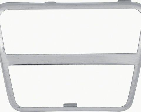 OER 1967-81 Brake/Clutch Pad Trim Plate K911