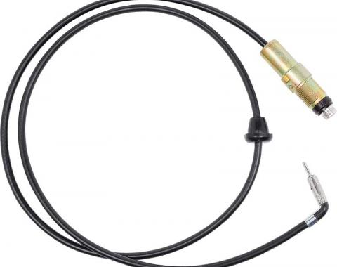 """OER 1967-72 AM/FM Antenna Body with 49-1/2"""" Cable 469304"""