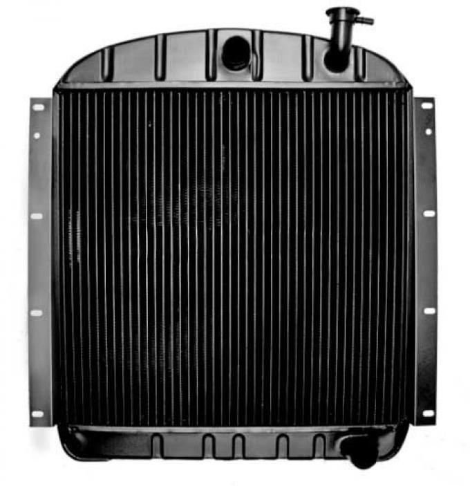 "OER 1955-59 GMC Pickup Pontiac V8 with MT 4 Row Copper/Brass Radiator (22-3/8"" x 23-1/2"" x 2-5/8"" Core) CRD1955S"