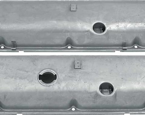 OER Chevrolet 396-454 Big Block with Power Brakes Valve Covers with Oil Drippers - Paintable VC1216
