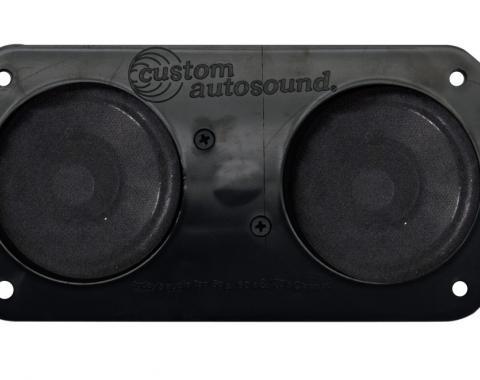 Custom Autosound 1960-1970 Ford Ranchero Dual Speakers
