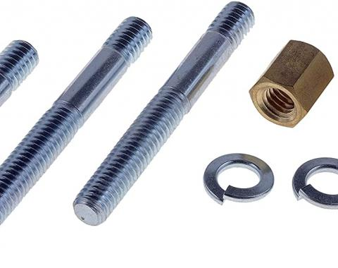 "Exhaust Flange Stud and Nut Set, 3/8""-16 x 3-1/4"""